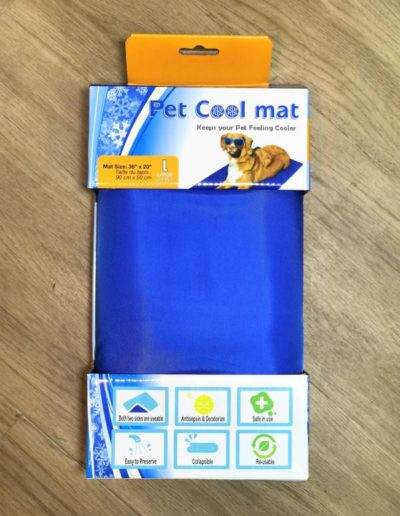 Pet Cool Mat Blue